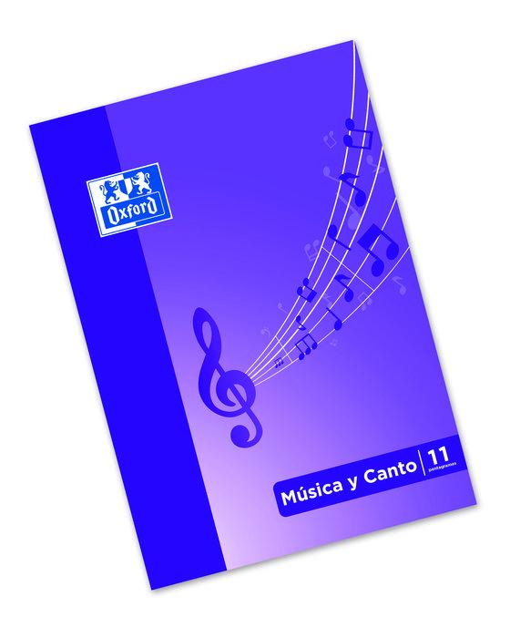 Libreta pentagrama musica a4 24h 11 pentagramas oxford