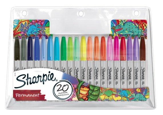 Rotulador sharpie 20 colores surtidos