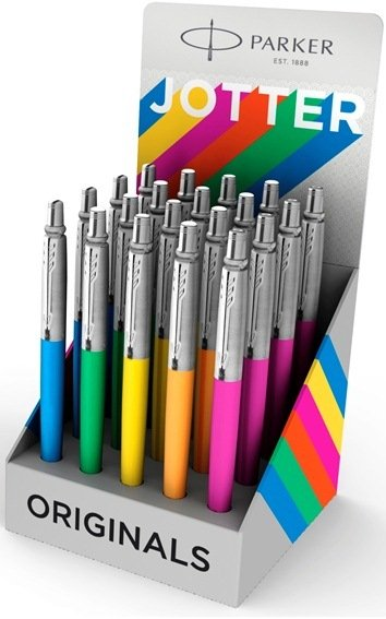 Boligrafo parker jotter original colores expositor 20 uds