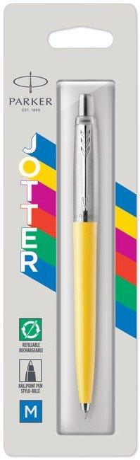 Boligrafo jotter original amarillo blister 1 unid
