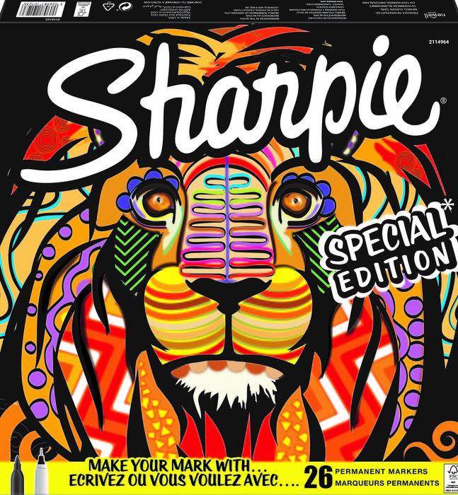 Rotulador sharpie big pack lion 26 colores surtidos