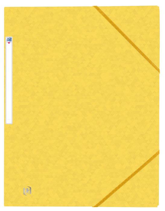 Carpeta gomas oxford top file+ a4+ amarillo