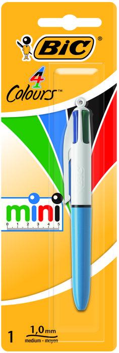 Boligrafo bic 4 colores mini blister 895956