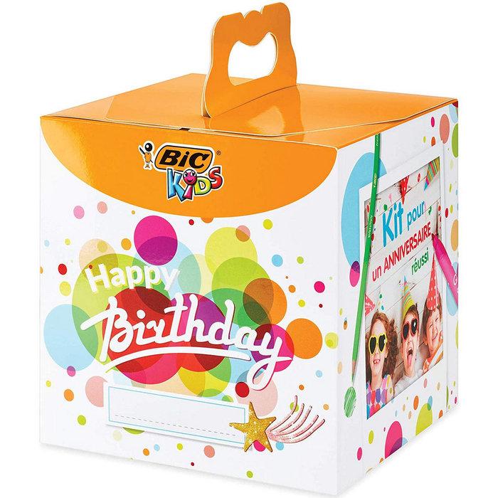Set regalo bic coloring happy birthday