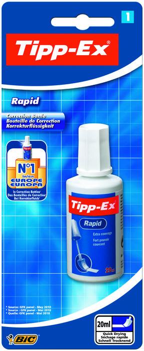 Corrector bic tipp ex rapid blister 1 unidad 8871592