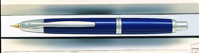 Pluma retractil 1500 azul f rodio