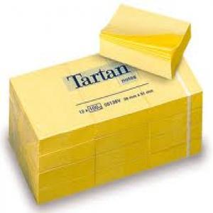 Notas adhesivas 38x51 tartan amarillo