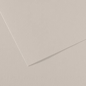 Papel mi-teintes 50x65 160gr gris perle
