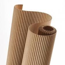 Hoja canson carton 50x70 ondulado beige natural