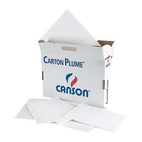 Hoja canson carton pluma a4 (56) 3mm blanco