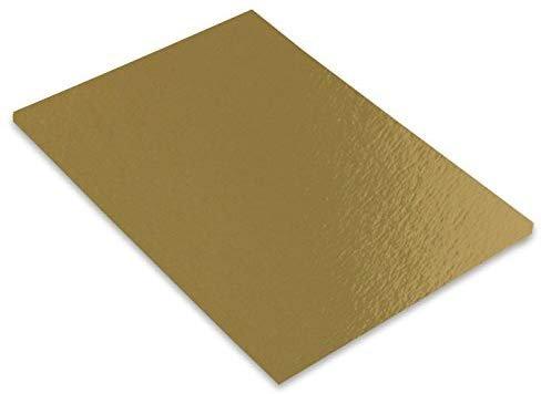 Cartulina iris a3 280g 50h oro metalizado