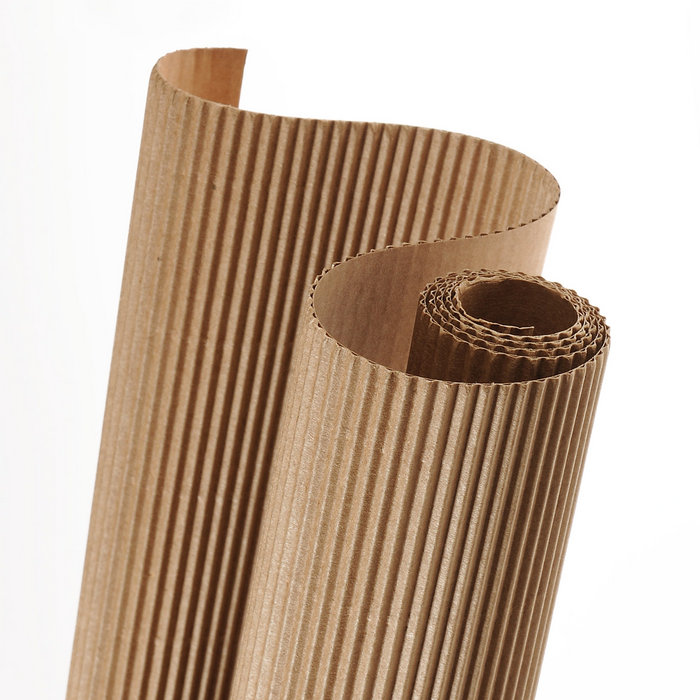 Carton ondulado 50x70 natural