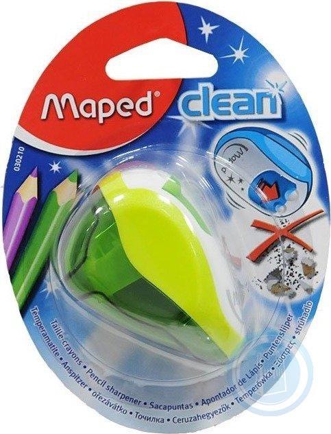Sacapuntas clean 2 usos deposito blister