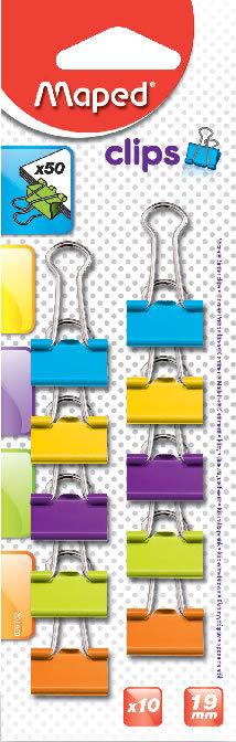 Pinzas para clips 19mm x10 blister