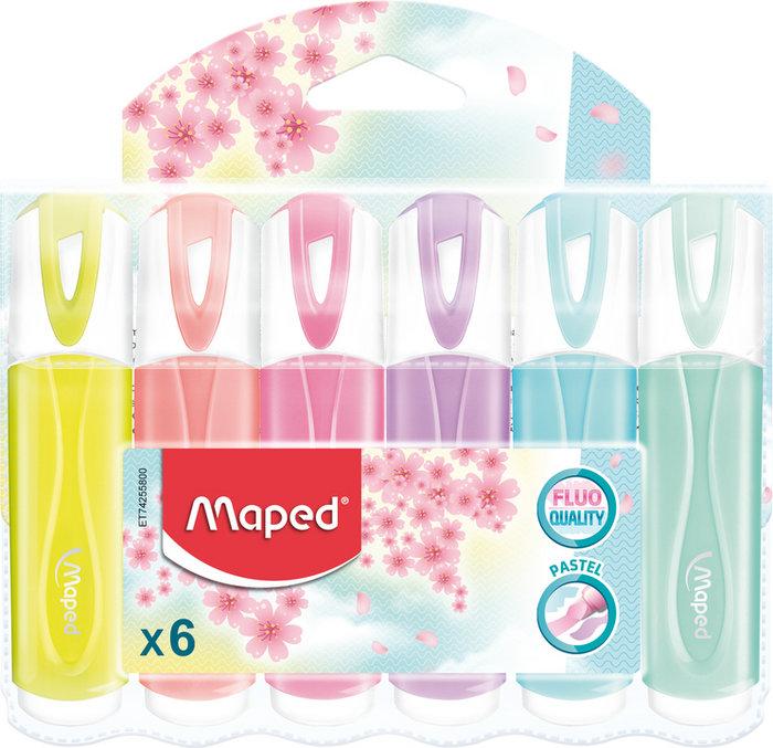 Marcador classic pastel 6 unidades