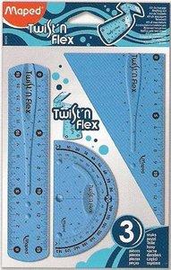 Juego reglas maped twistn flex 3pzas