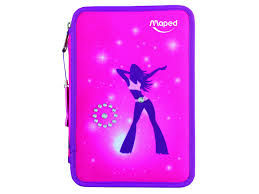 Plumier maped 34pzas 2 pisos girly