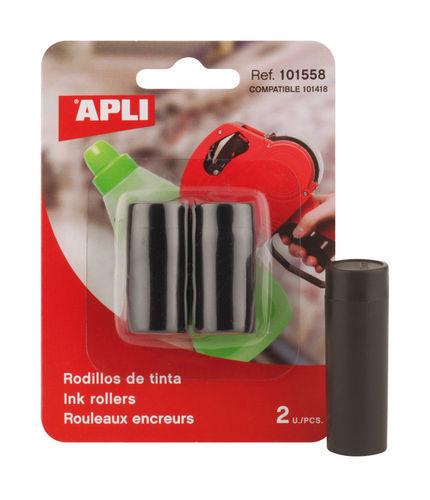Rodillo tinta etiquetadora blister 2 unid 101418 una linea