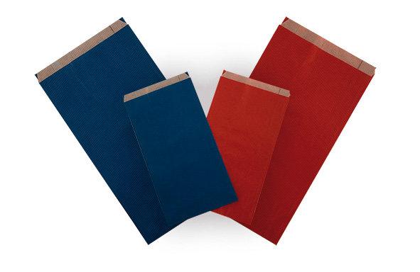 Sobres papel kraft azul 18 x 32 + 6 cm en caja de 250 uds