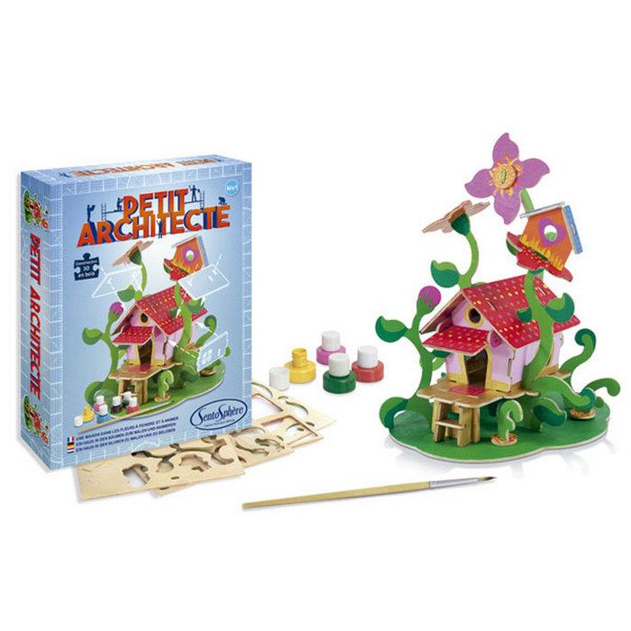 Juego sentosphere petit architecte casita entre flores