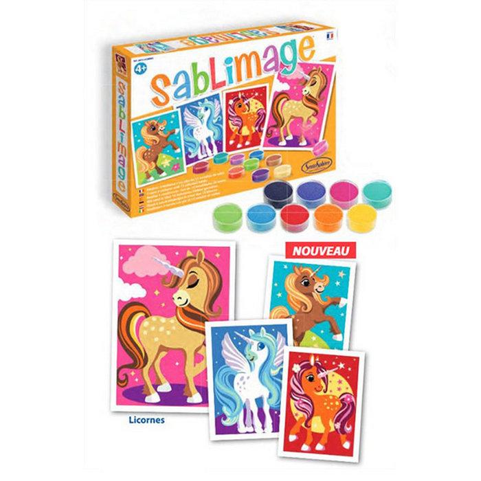 Juego sentosphere sablimage unicornios sentosphere