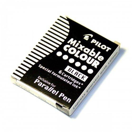 Recambio 6 cartuchos parallel pen negro