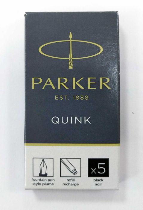 Cartucho tinta parker negro b/5