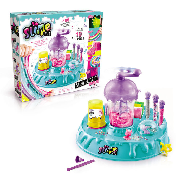 Fabrica de slime - slime factory mix & match