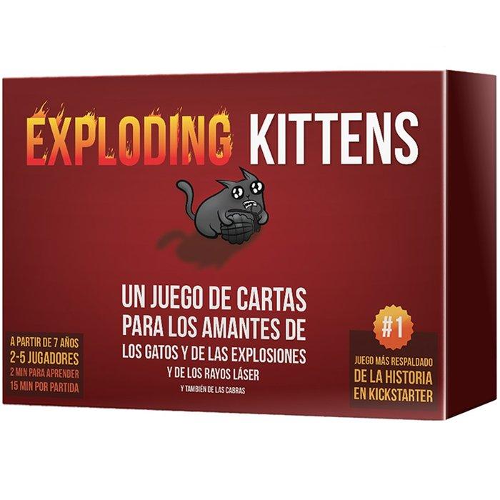 Juego de mesa exploding kittens