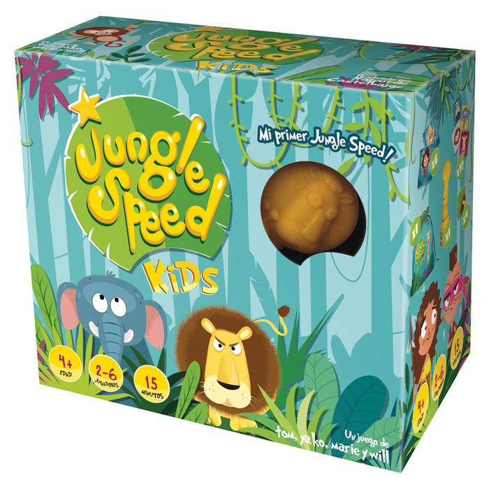 Juego de mesa jungle speed kids