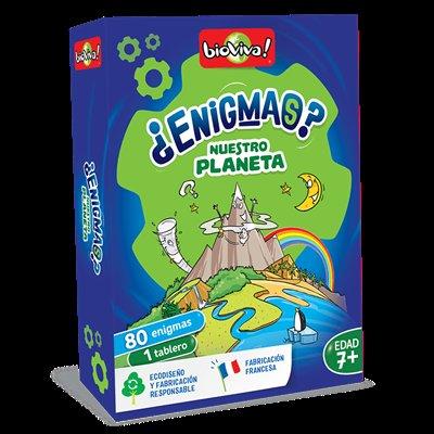 Juego enigmas nuestro planeta