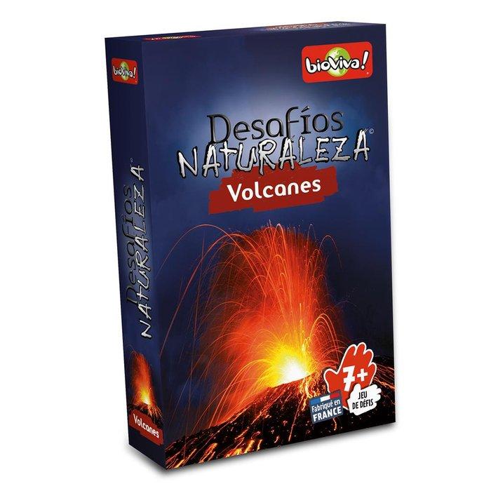 Juego de cartas bioviva volcanes