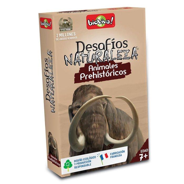 Juego de cartas bioviva animales prehistoricos