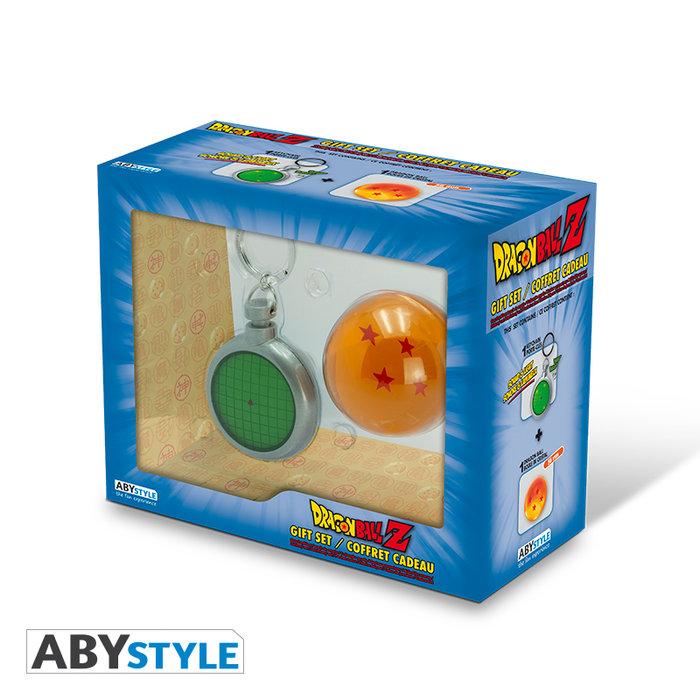 Pack regalo dragon ball llavero radar y bola de dragon