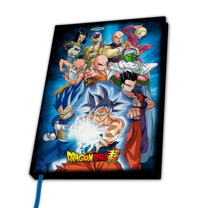 Cuaderno a5 dragon ball super universo 7