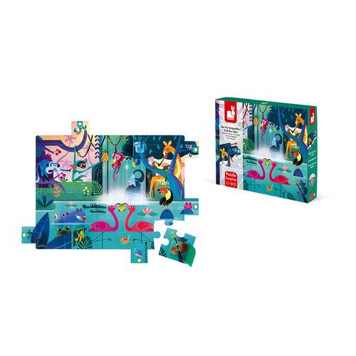 Chunky puzzle sorpresa fiesta en la selva