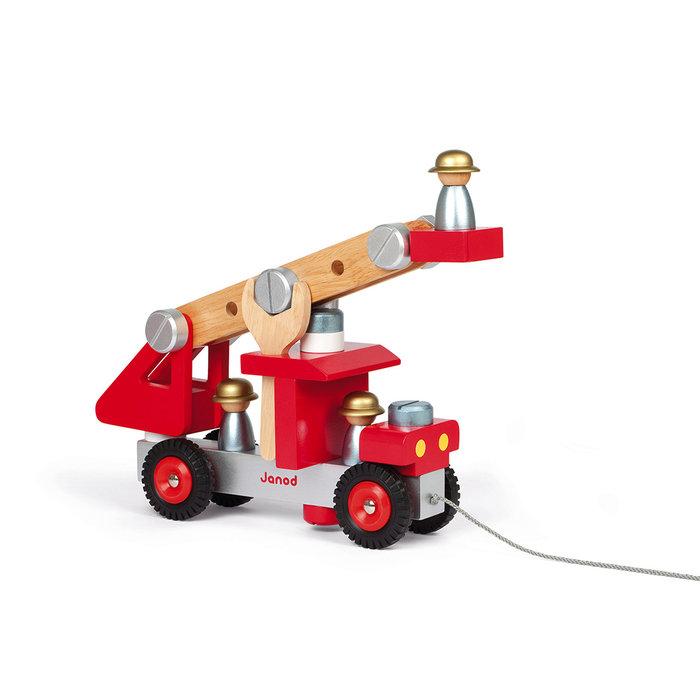 Juego bricolaje camion de bomberos