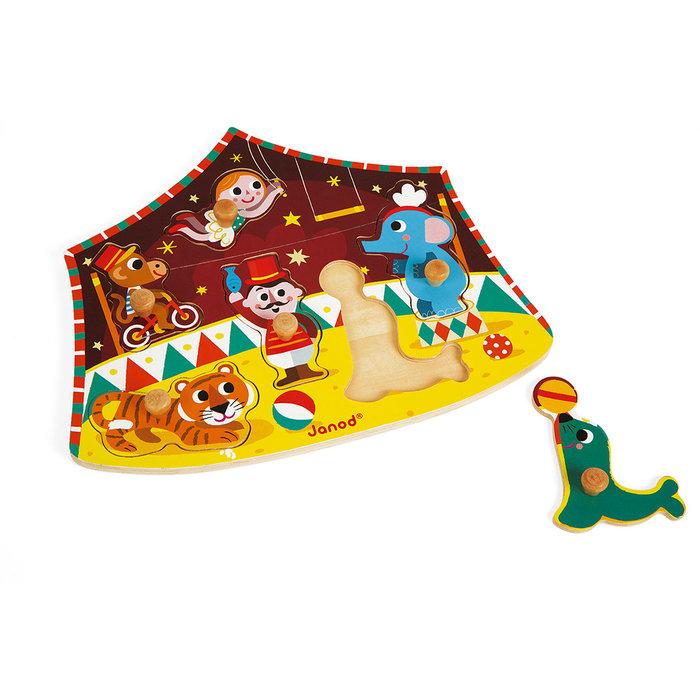 Chunky puzzle circo de estrellas