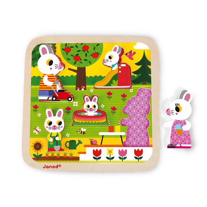 Chunky puzzle el jardin