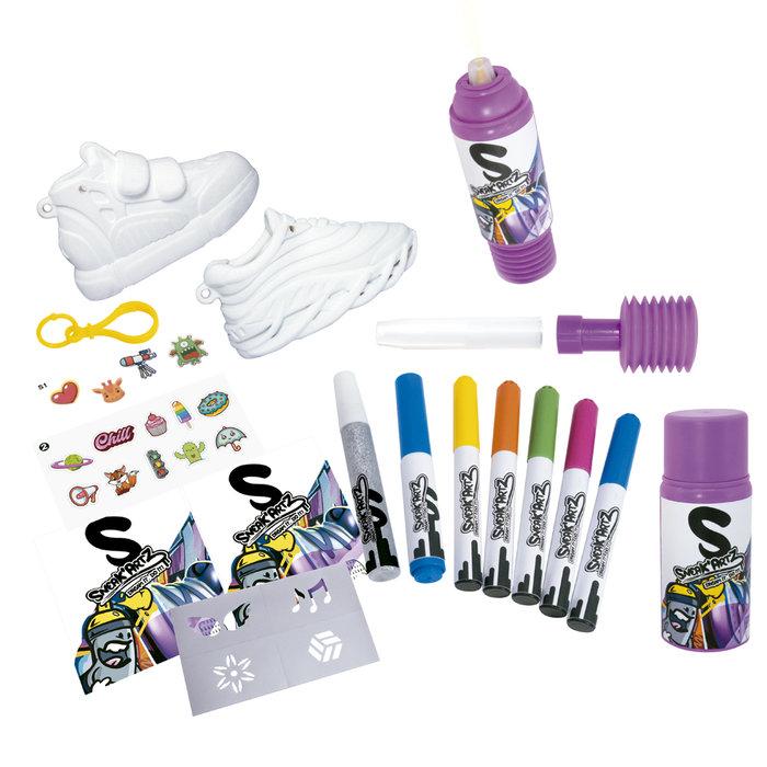 Juego sneak´artz spray set