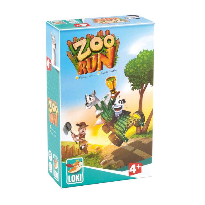 Juego educativo zoo run