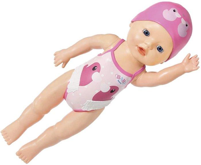 Baby born nadadora 30cm