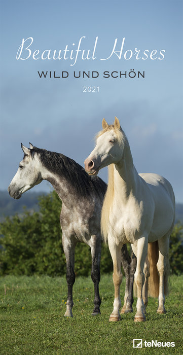 Calendario 2021 beautiful horses 33x64 / 64x33