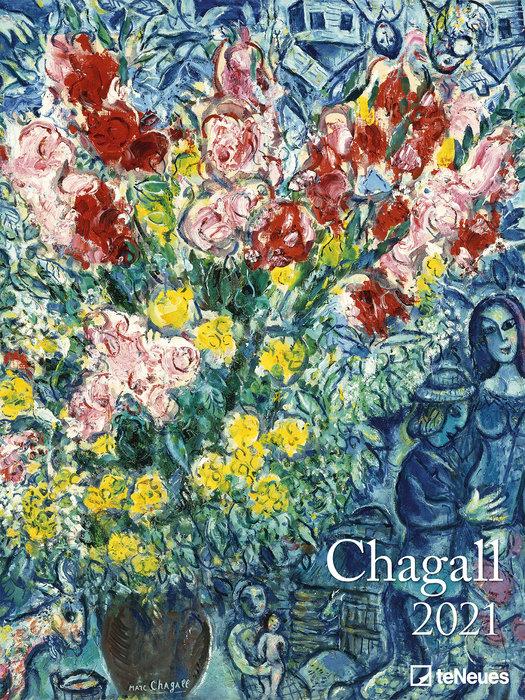 Calendario 2021 chagall 48x64 / 64x48