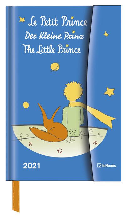 Agenda anual 2021 the little prince 10x15