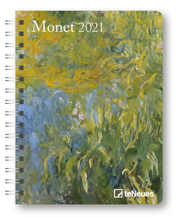 Agenda anual 2021 monet 16.5x21.6
