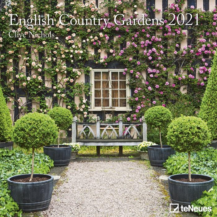 Calendario 2021 english country gardens 30x30