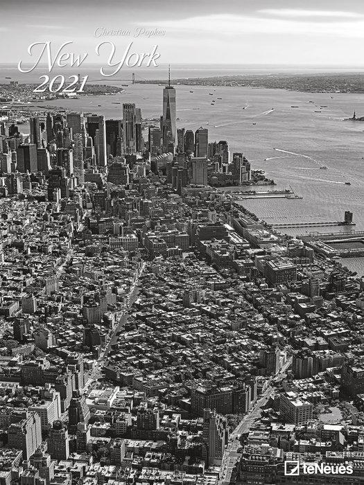 Calendario 2021 new york 48x64 / 64x48