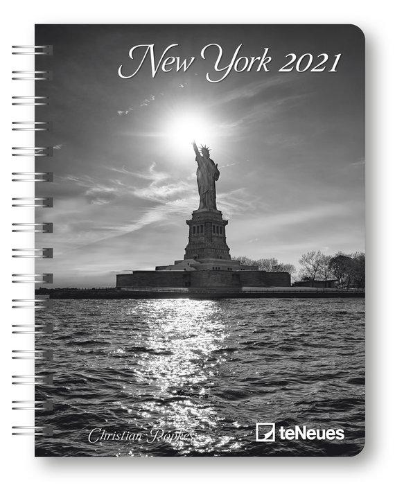 Agenda anual 2021 new york 16.5x21.6