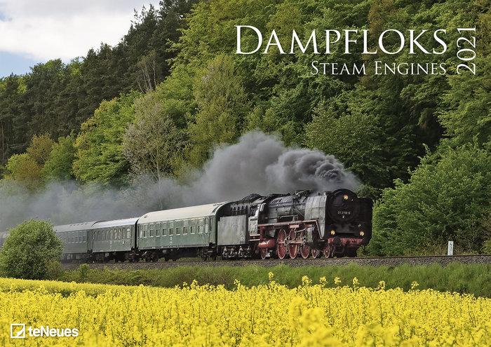 Calendario 2021 steam engines 29.7x42 / 42x29.7